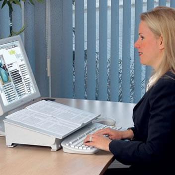 Laptop Stand Document Holder Ergonomic Mouse